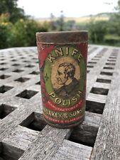 Antique Tub Oakey Knife Polish