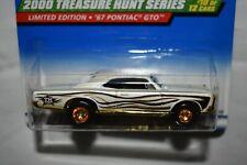 Hot Wheel 1:64 Treasure Hunt 2000 1967 Pontiac GTO