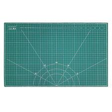 A1 CUTTING MAT NON SLIP SELF HEALING PRINTED GRID ART & CRAFT DESIGN | 900X600MM