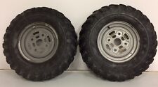 2005 Can-am Outlander 400 Front Wheels Rims Tires Pair