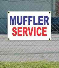 2x3 MUFFLER SERVICE Red White & Blue Banner Sign NEW Discount Size & Price