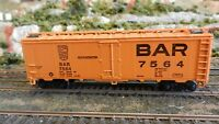 Athearn HO  Steel Ice Reefer, Bangor & Aroostook (BAR), Upgraded Exc