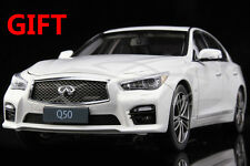 Car Model Infiniti Q50 1:18 (White) + SMALL GIFT!!!!!!!!!!!