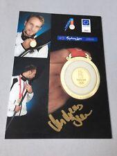 ANDREAS IHLE Olympiasieger 2008 Kanu signed Autogrammkarte 10 x 15