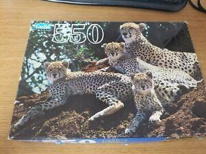 Guild 550 Piece Jigsaw Puzzle Cheetah Pack Puzzle Jigsaw Puzzle