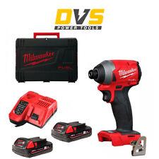 Milwaukee M18FID2-0 M18FID2-202X 18v M18 FUEL GEN 3 Impact Driver 2Ah Batteries