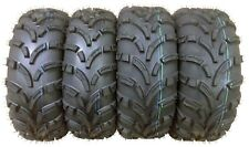 Set of 4 WANDA ATV Tires AT 26x8-12 Front & 26x10-12 Rear /6PR -10257/10258