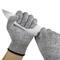 Kitchen Cut Resistant Gloves Anti-Cutting Food Grade Level 5 Butcher Protection
