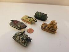 Micro Machines Tank Vehicle Mini Military Army Car Lot,Combine Post-Loads listed