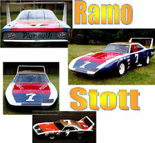CD_786 #7 Ramo Stott    Plymouth Road  Runner   1:25 Scale Decals