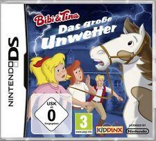 Nintendo DS 3DS BIBI UND TINA DAS GROSSE UNWETTER Deutsch *Neuwertig