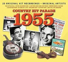 Country Hit Parade 1955 25 Hit recordings CD LIKE NEW 2008 Dynamic DIGIPAk