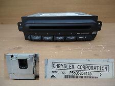 Chrysler Dodge Neon Caravan 4 Disc CD Changer Face Plate P56038531AD 1998-2002