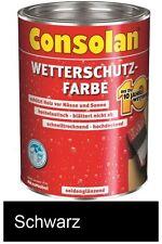 Consolan Wetterschutz-Farbe schwarz 750 ml NEUWARE Art. Nr. 5087492
