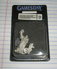 40k rare oop vintage metal Gamesday Games day 2005 Space Marine Captain w Fist