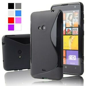 Case For Nokia Lumia N 625 S Line Gel Silicone w/ Free Screen Protector - WHITE