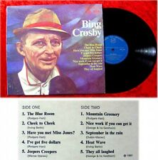 LP Bing Crosby The Blue Room MFP engl.Pressung
