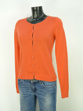 MARC O'POLO STRICKJACKE GR S / ORANGE & NEUWERTIG    ( O 6469 )