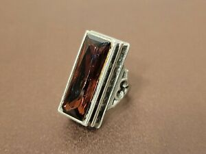 2008 ALCHEMY CARTA GOTHIC COFFIN RING MADE IN ENGLAND