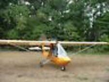 Excalibur Utralight Experimental Airplane Desktop Wood Model Big New