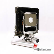 "SINAR Norma 8x10 Monorail Large Format Camera w/ 12"" Extension Rail + Lens Board"