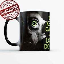 Dobby says Keep Calm and Love Dobby Magic mug Harry Potter and the good elf gift