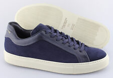 71f7c4d8fc429 Men s TO BOOT NEW YORK  Marshall  Blue Leather Suede Sneakers Size ...