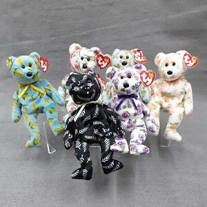 TY Beanie Babies Asia Pacific 00s Exclusive 6 Bear Rare Bundle/Set