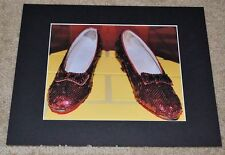 ORIGINAL RED RUBY SLIPPERS 1939 WIZARD of OZ SMITHSONIAN RARE SIGNED #5/25 PRINT