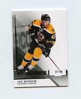 14/15 SP GAME-USED SPGU ROOKIE RC #138 JOE MORROW 37/45 BRUINS