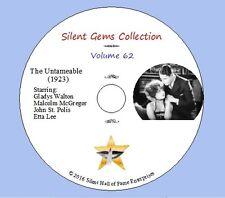 "DVD ""The Untameable"" (1923) Gladys Walton, Malcolm McGregor,Classic Silent Drama"