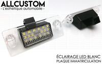 LED ECLAIRAGE BLANC XENON PLAQUE IMMATRICULATION pour AUDI A3 8L 00-03 S3 Sline