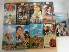 Vintage Lot of 9 OOP Hallmark Hall of Fame Family Love Movies VHS Video Tapes
