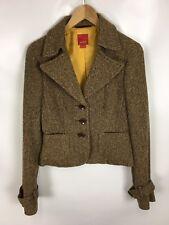 ESPRIT Blazer, braun, Größe 38, Wolle