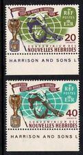 CONDOMINIUM DES NOUVELLES-HEBRIDES 1966 WORLD CUP FOOTBALL CHAMPIONSHIP MNH