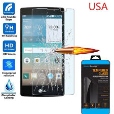 Tempered Glass Screen Protector Guard Cover for LG Escape 2 (2nd Gen) H443 H445