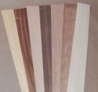 "Variety Pack Wood Veneer, Raw/Unbacked - 2.5"" x 40"" x 0.042"""