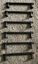 Lot Of 6 Cabinet Drawer Pulls Rubbed Bronze used