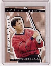GUY CARBONNEAU 94/95 ITG BAP Be A Player #106 Auto Autograph Hard-Signed +COA SP