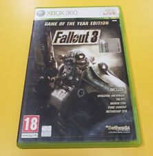 Fallout 3 Game of The Year Edition game XBOX 360 ITALIAN VERSION