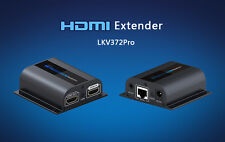 196Ft/60M HDMI 1080P Extender With Loop-out & IR,Video/Audio Extender Over Cat6