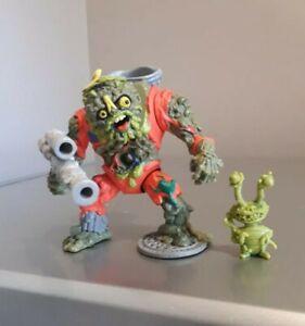 Rare Teenage Mutant Hero Turtles Muckman & Joe Eyeball Figure 1990 100% complete