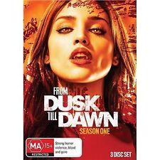 From Dusk Till Dawn SEASON 1 (DVD, 2014, 3-disc sets)