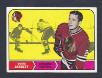 1968-69 Topps #13 Doug Jarrett Chicago Black Hawks NM Near Mint condition