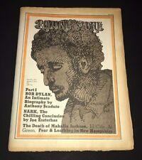 Rolling Stone Magazine Bob Dylan  Magazine 1972