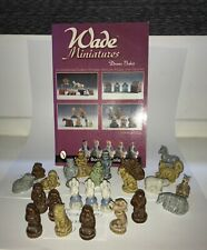Wade pottery figurines and Wade miniatures guide book