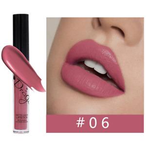 Waterproof Long Lasting Matte Liquid Lipstick Lip Gloss Velvet Cosmetic Makeup