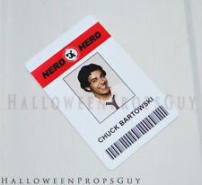 CHUCK Buy More Nerd Herd Chuck Bartowski PVC ID Card Prop Replica USA