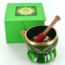 More details for heart chakra tibetan singing handcrafted bowl meditation healing mindfulness