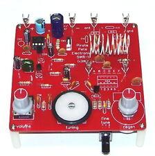 DELUXE PCB vintage transistor desgn UNBUILT SW shortwave radio science fair kit